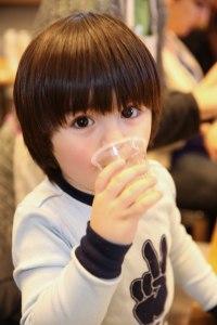 Evo Fresh juice tasting Bubs