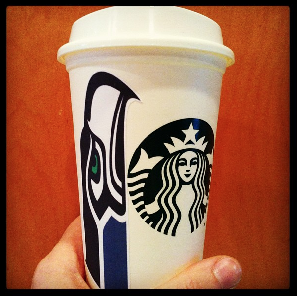 #GoHawks and Starbucks