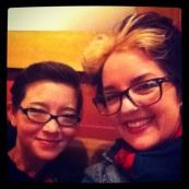Lisa and I at Starbucks Fremont
