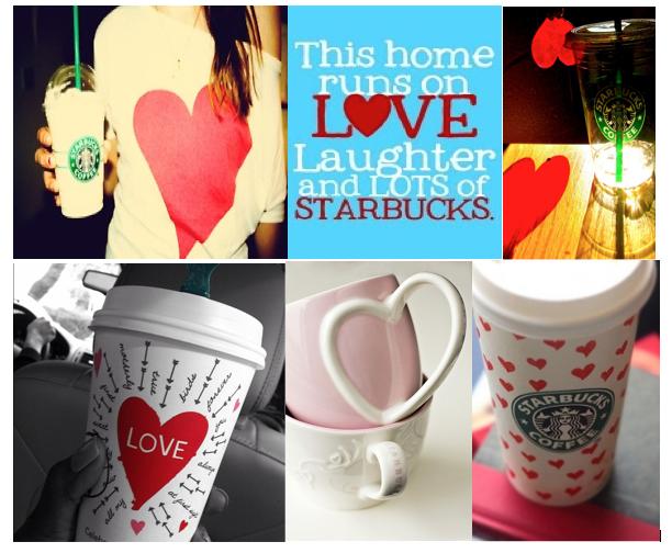 I HEART Starbucks images