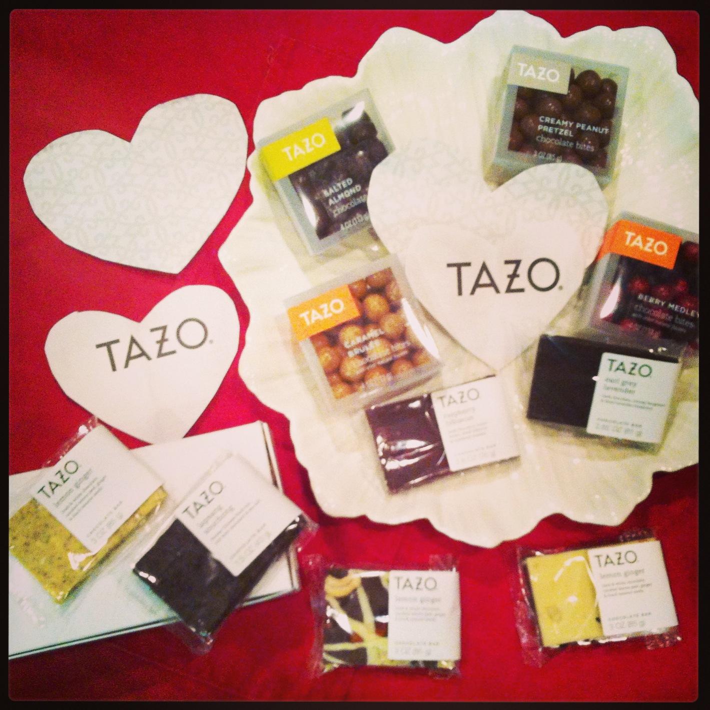 Tazo chocolate plate