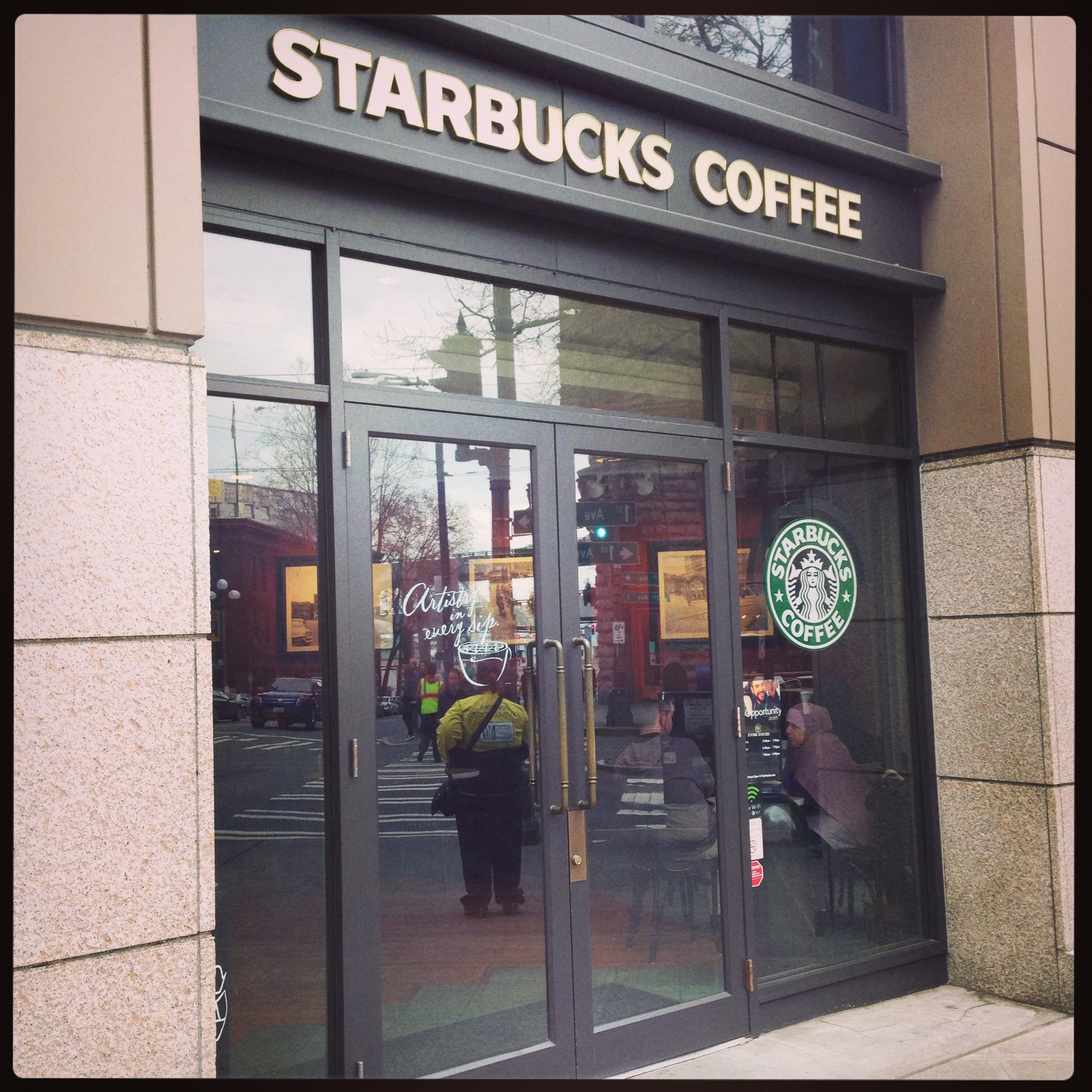 Pioneer Square Starbucks
