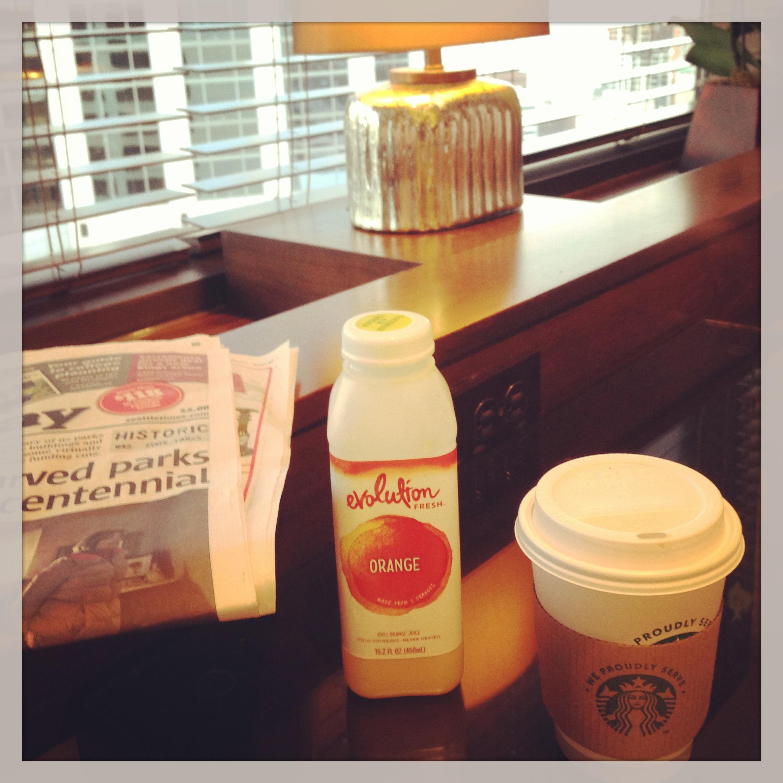 Sheraton Starbucks Morning