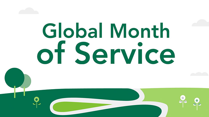 Starbucks Global Month of Service
