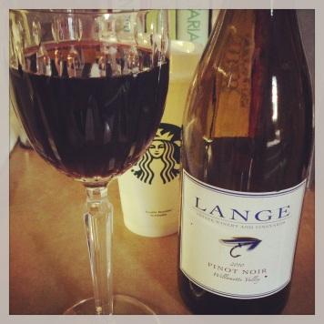 Starbucks Lange wine