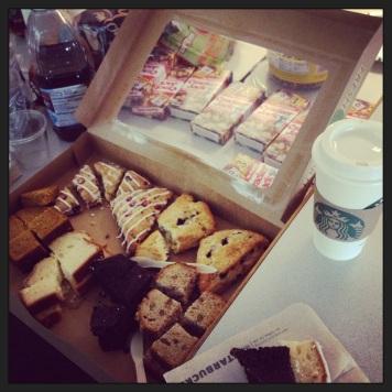 Starbucks party tray