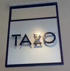 Tazo Tea sign