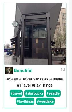 Vine Westlake Starbucks screen shot