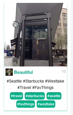 Vine Westlake Starbucks screen shot