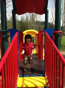 Epic fun at playground