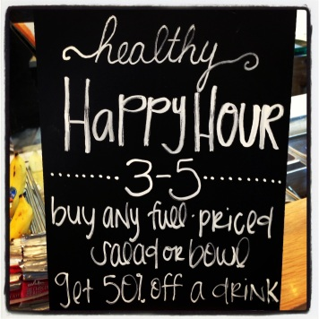 Evolution Fresh Healthy Happy Hour