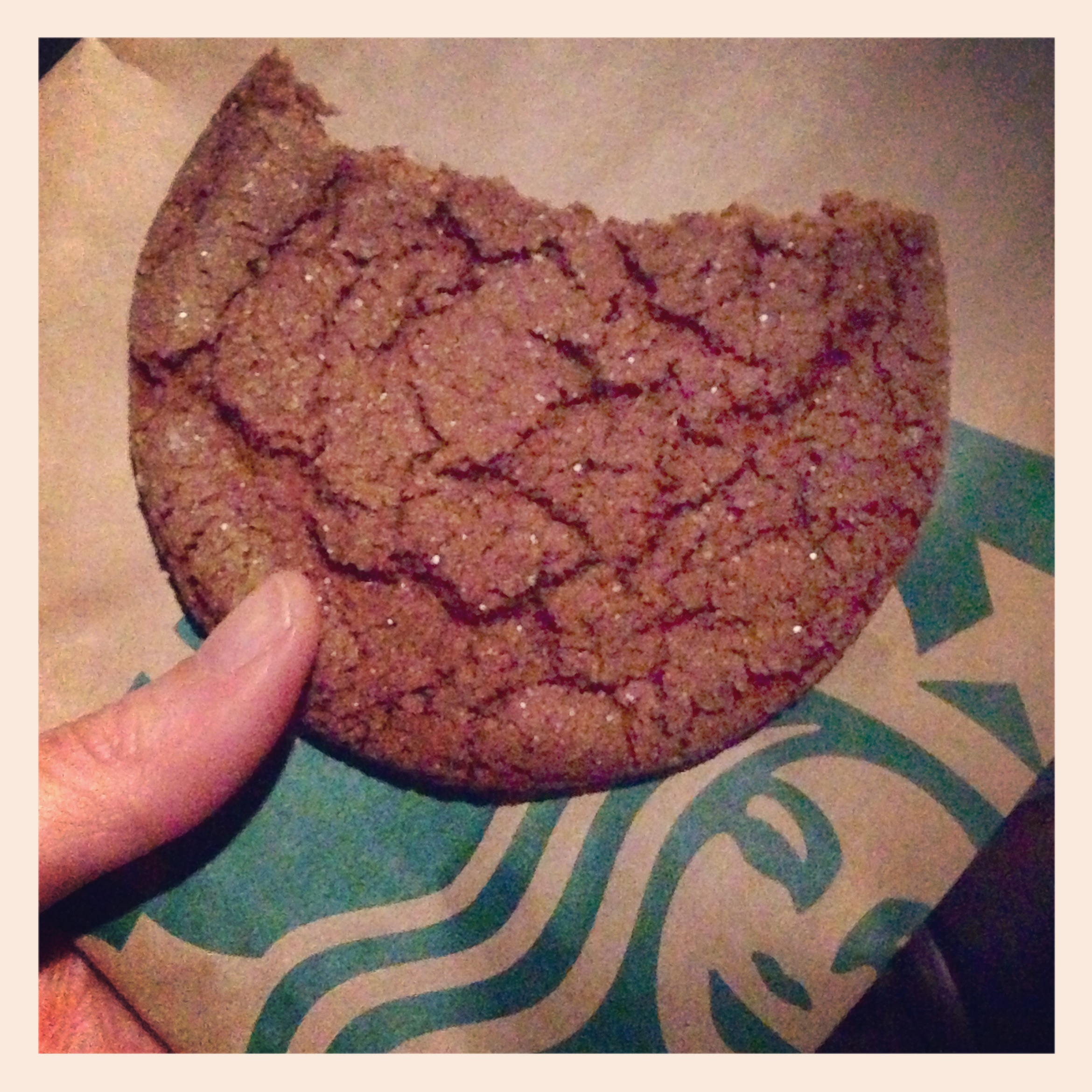 Starbucks Molasses cookie