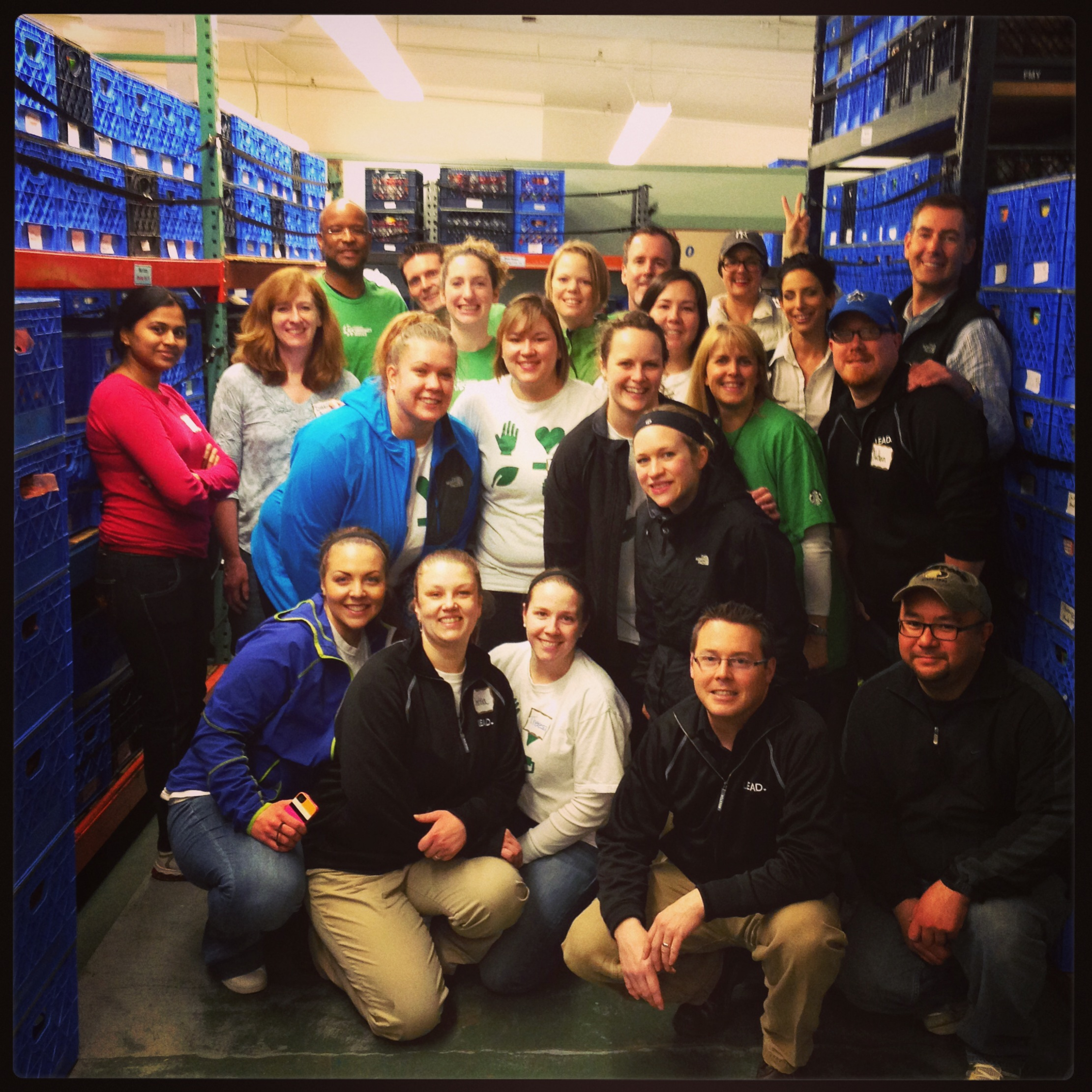 Starbucks Partners at Issaquah Food Bank