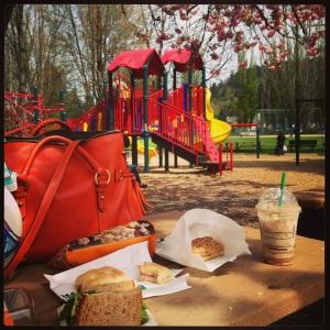 Starbucks picnic