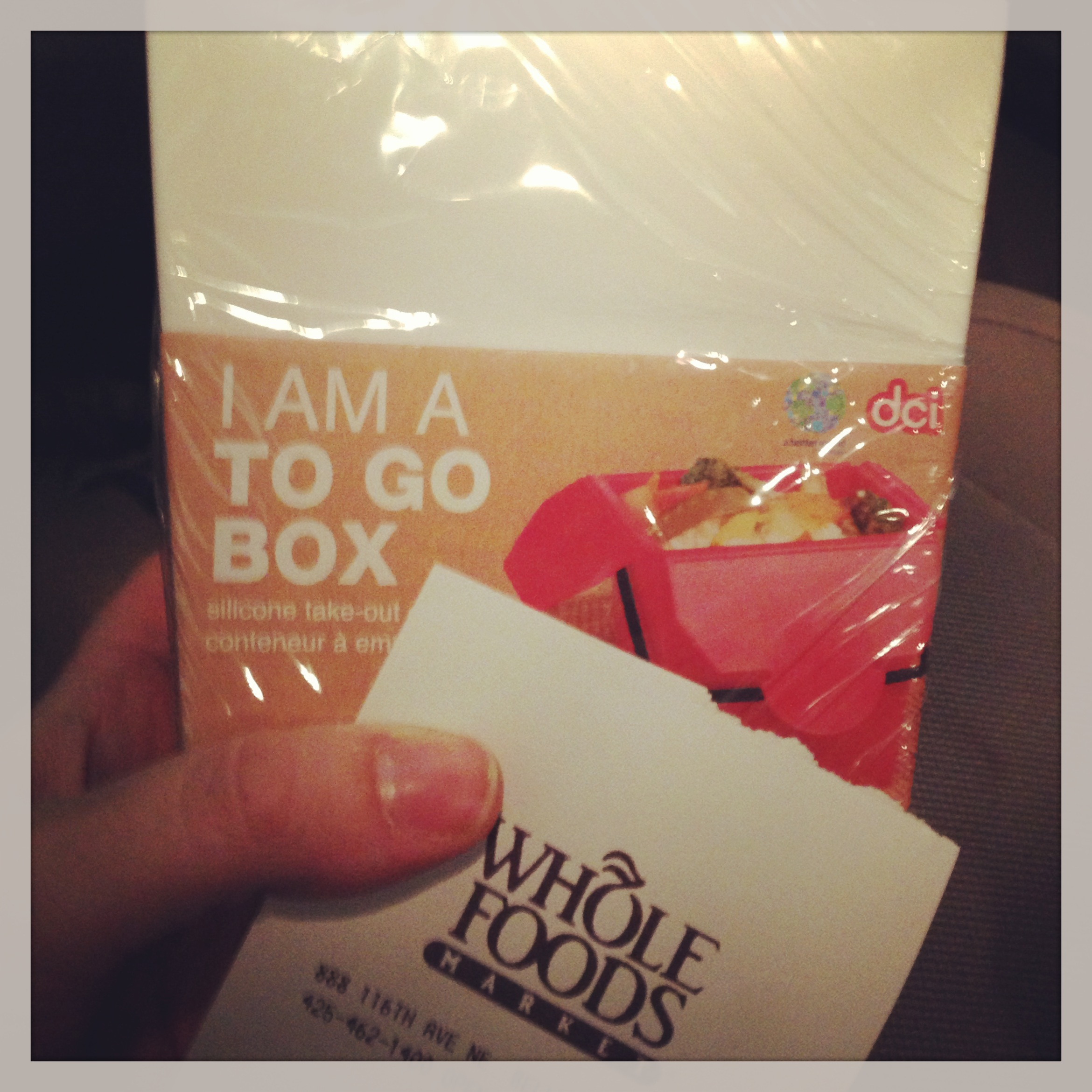 Whole Foods To Go box