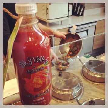 Evolution Fresh Sriracha and Bowl