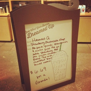 Frappuccino dreaming 2