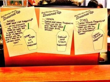 Frappuccino dreaming