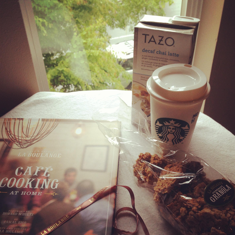 La Boulange and Tazo Tea Morning