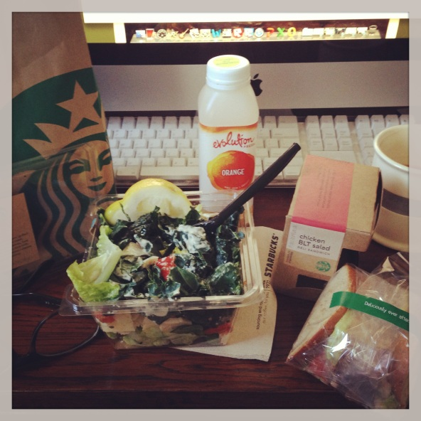 New Starbucks Lunch May 2013