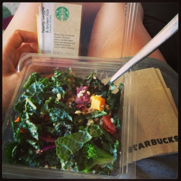 Starbucks Hearty Veggie bowl