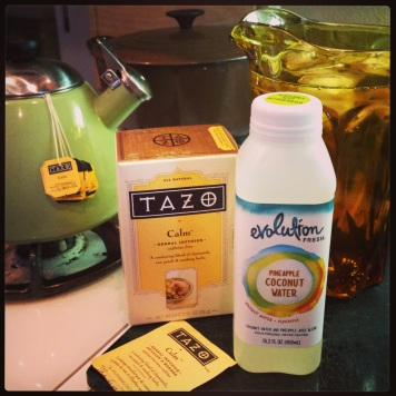 Tazo Calm Pineapple Coconut drink