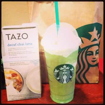 Tazo Green Tea Frapp