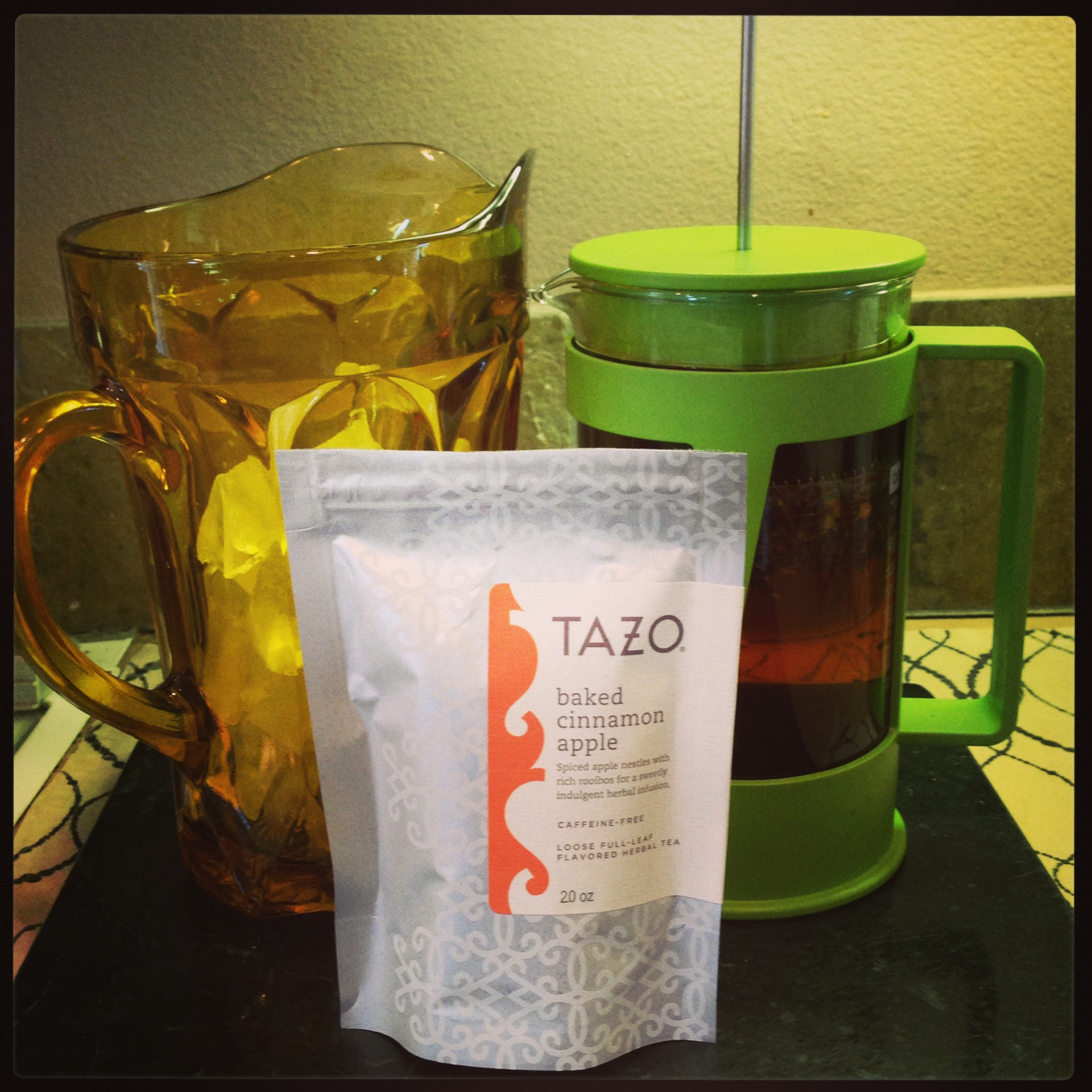Tazo Tea baked cinnamon apple ice tea