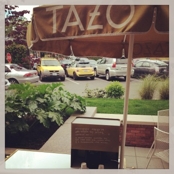 Tazo tea tent