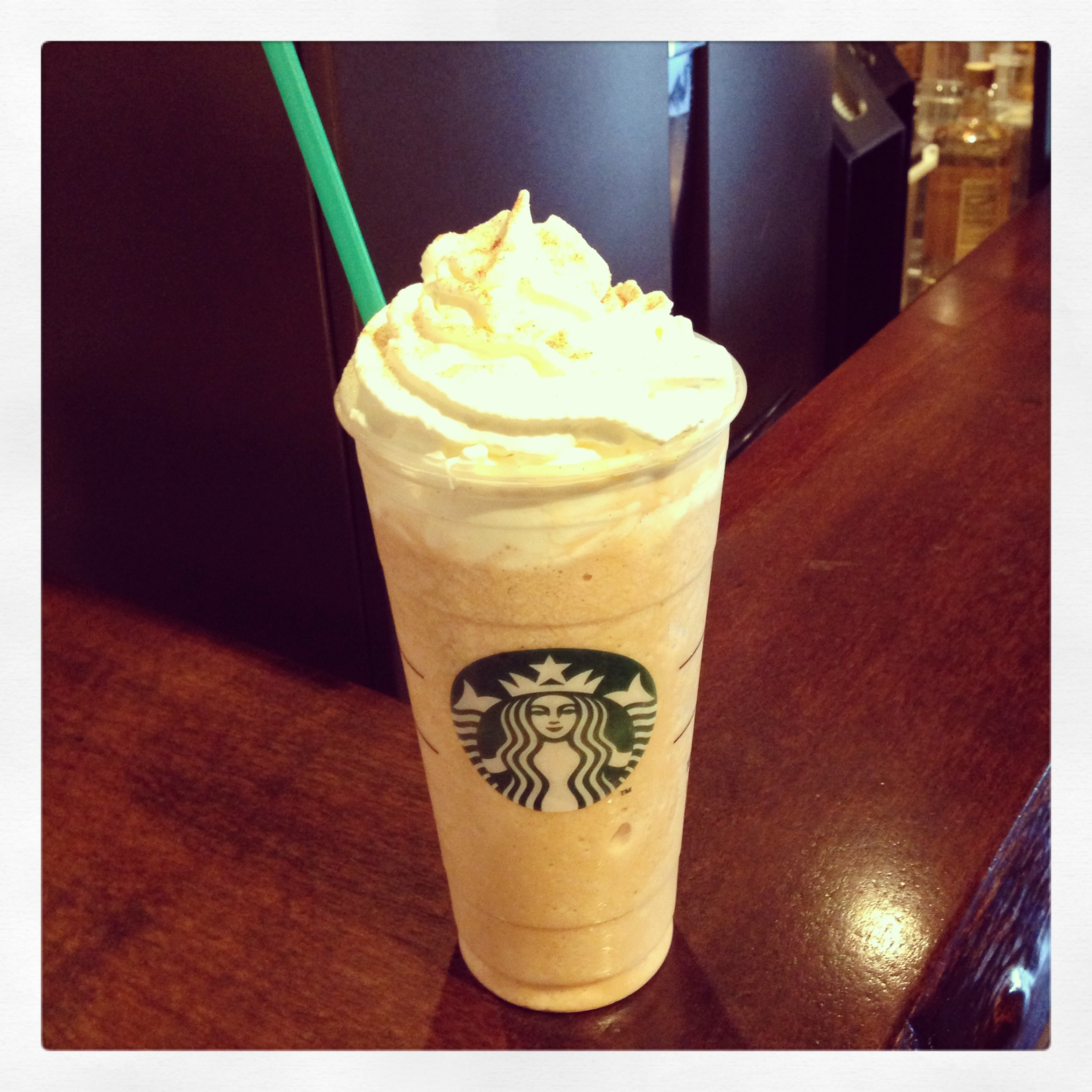 The Carrot Cake Frappuccino