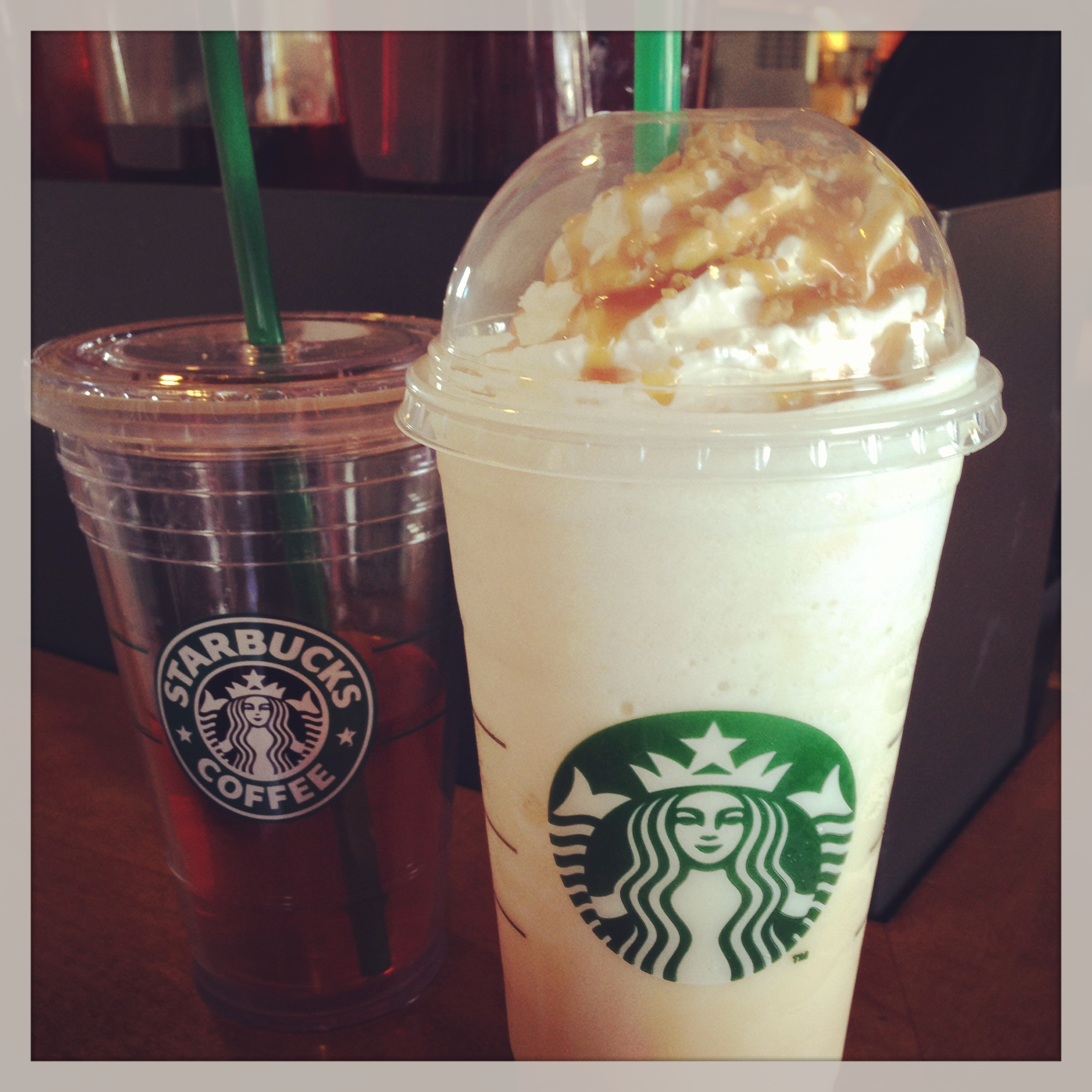 The Washington Apple Frappuccino
