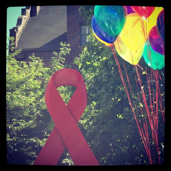 Aids ribbon Pride