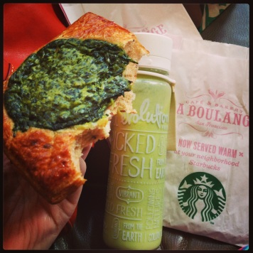 Evolution Fresh and La Boulange lunch
