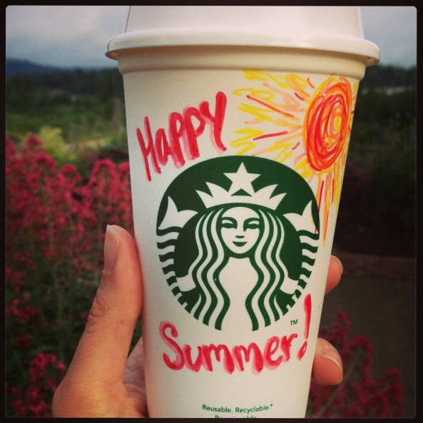 Happy Summer Starbucks