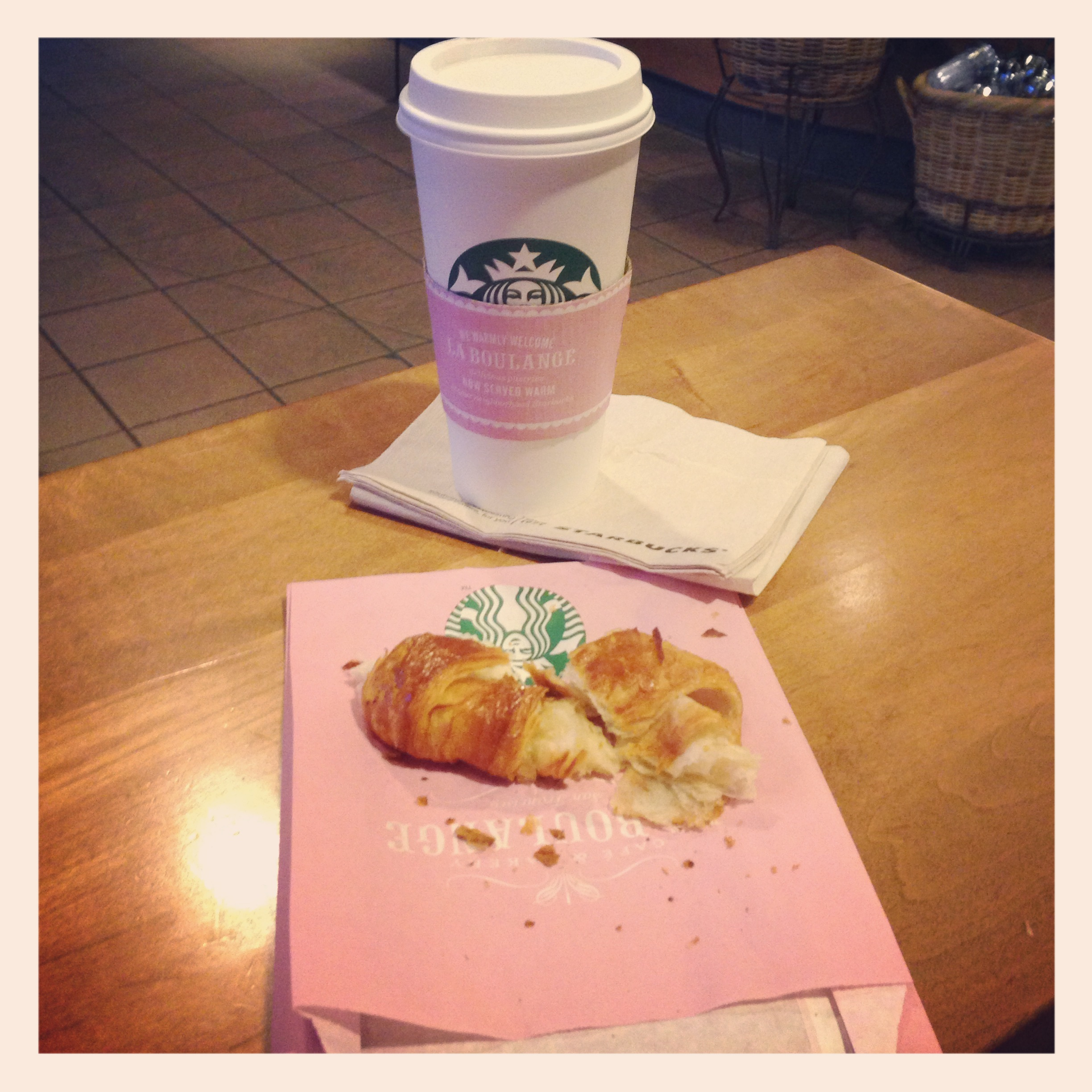 La Boulange launch croissant and coffee