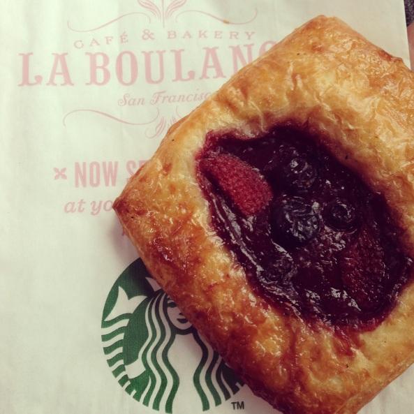 LaBoulange Summer Berry Croissant