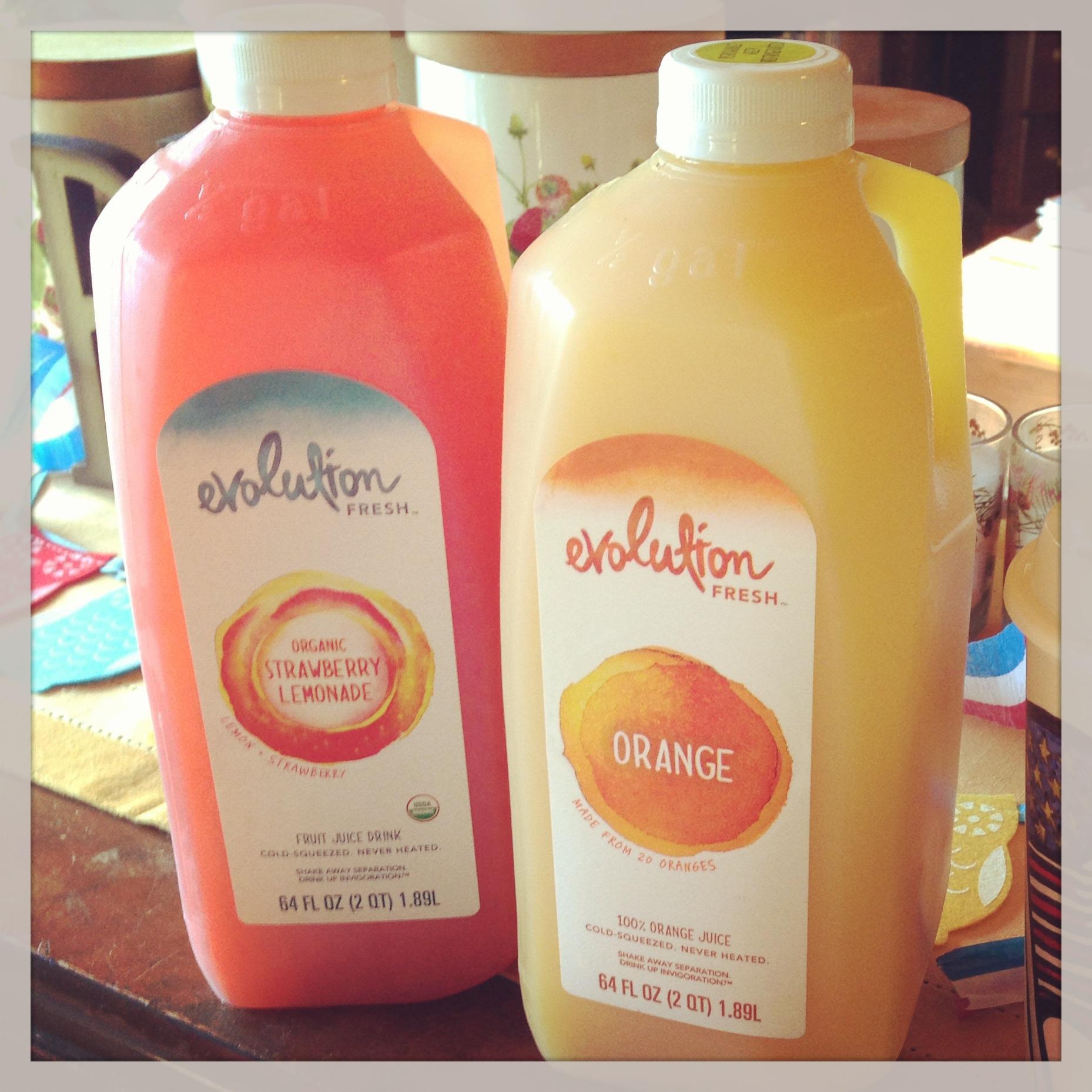 Large Evolution Fresh juices