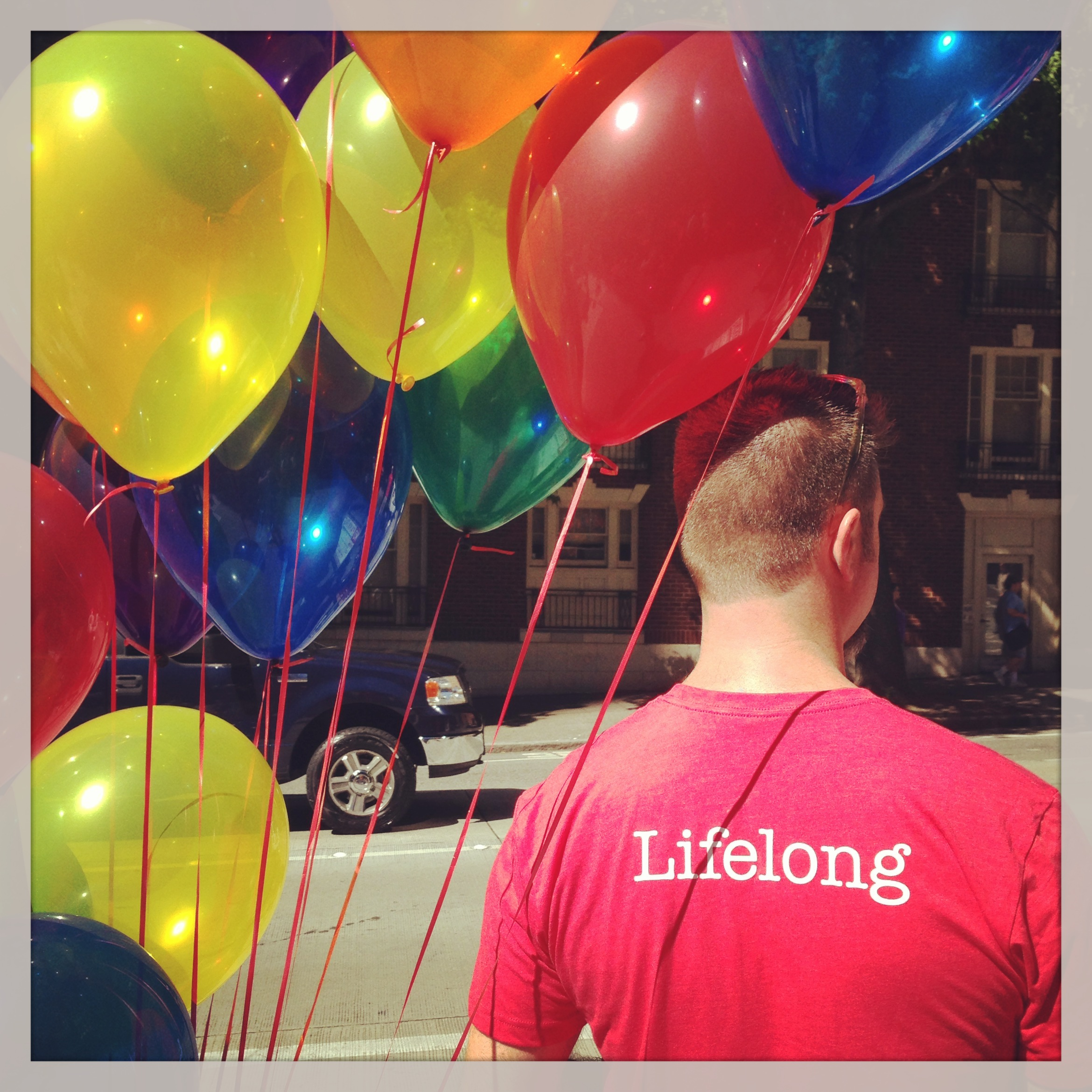 Lifelong rainbow