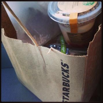 Starbucks Bag of Goodies