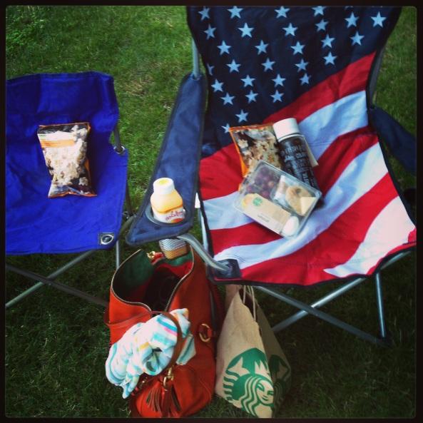 Starbucks outdoor movie night