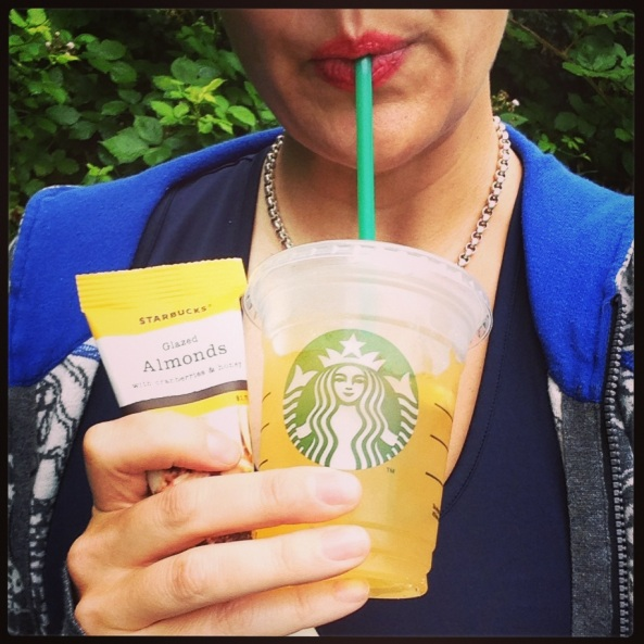 Starbucks Valencia Orange Refresher