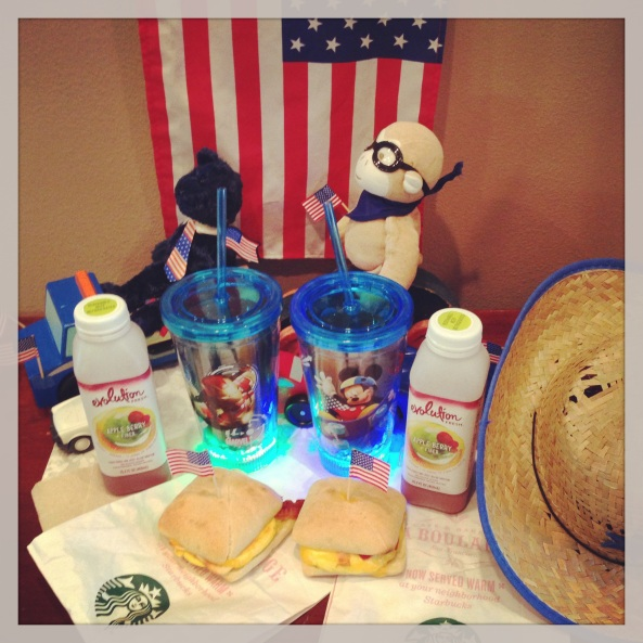 Fourth Of July Starbucks Breakfast