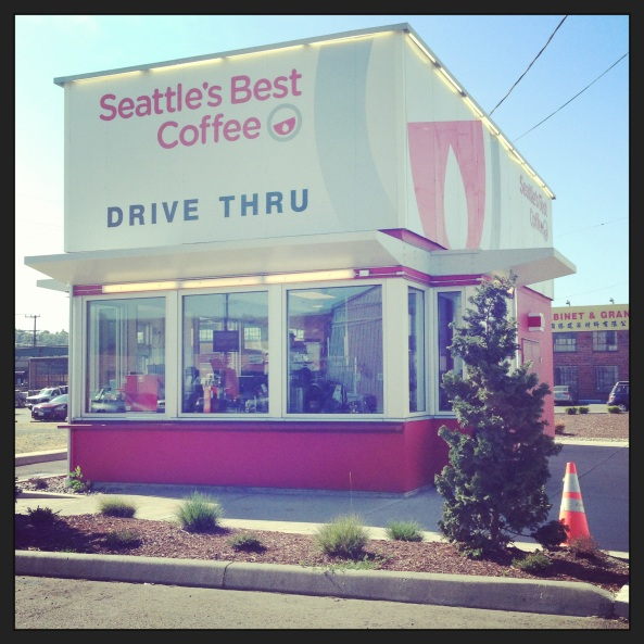 SBC Seattles Best Coffee Drive Thru