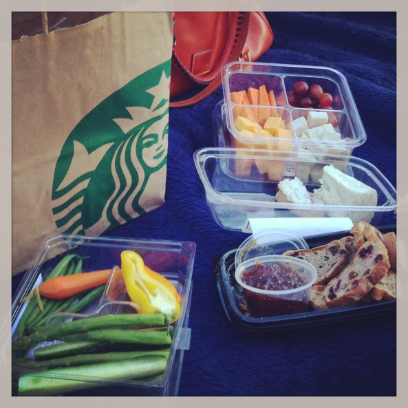 Starbucks Evening picnic