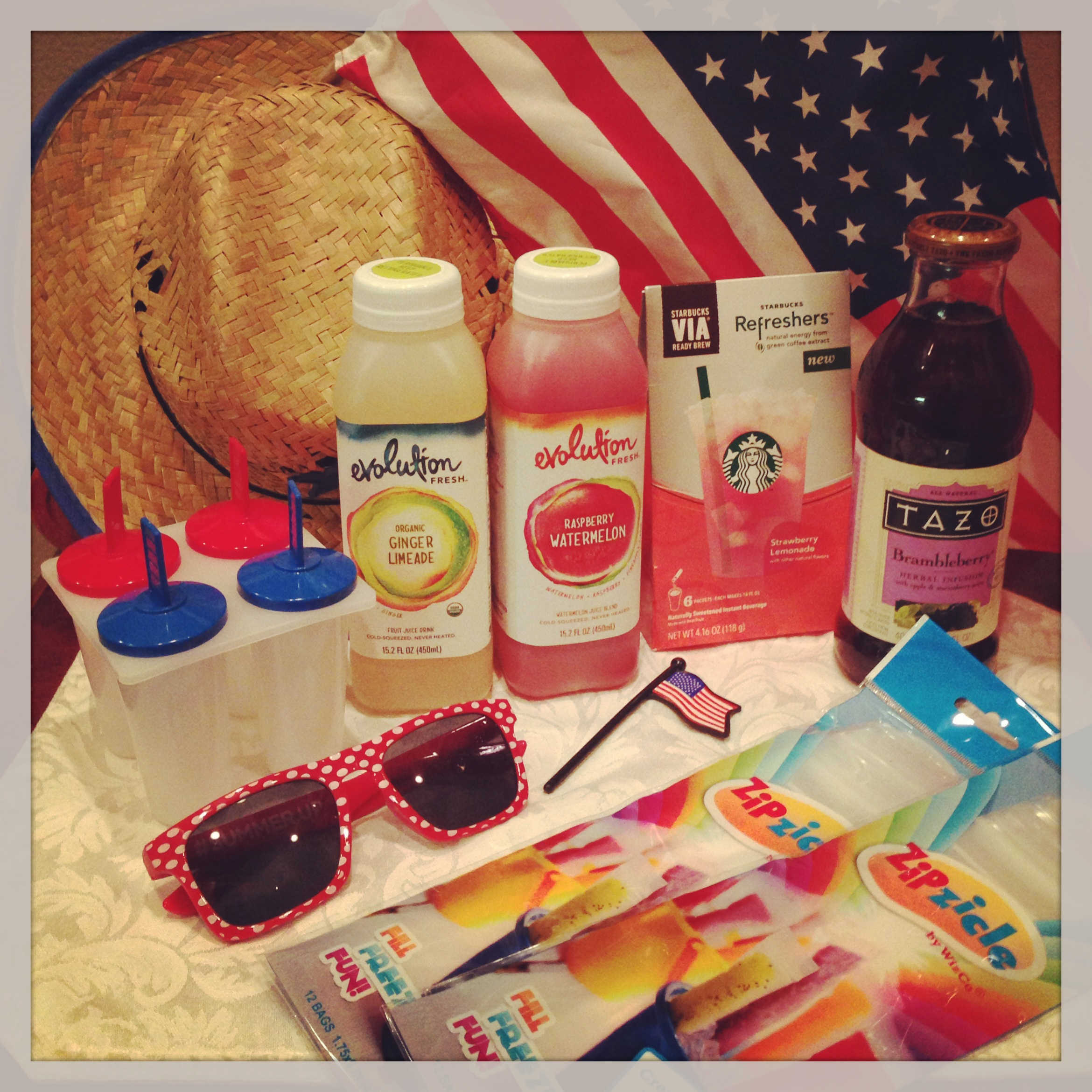 Starbucks Patriotic Popsicle Ingredients