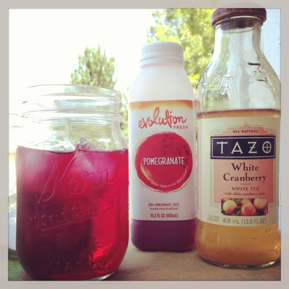 Tazo and Evolution Fresh Summer Drink