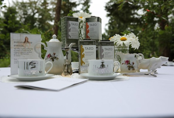 Tazo Tea Table