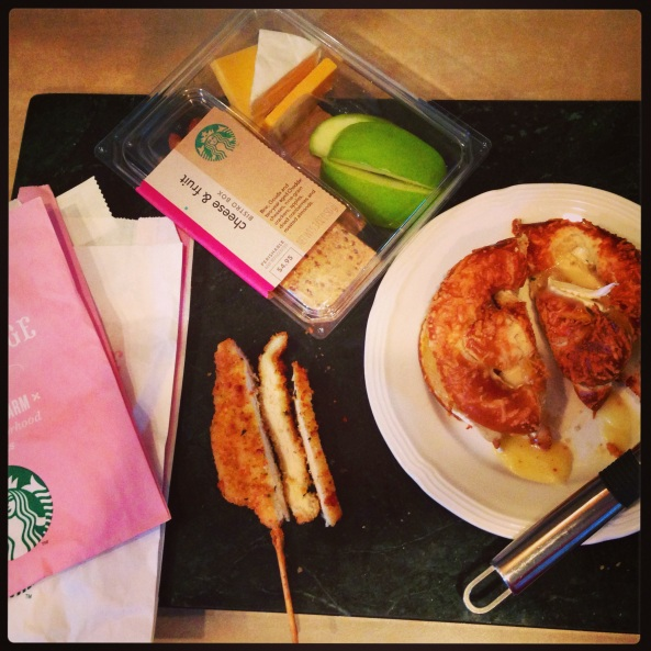 Starbucks Pretzel sandwich