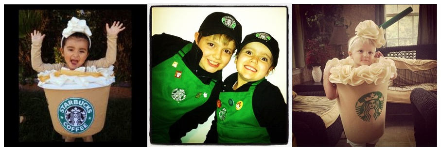 Starbucks kids costumes