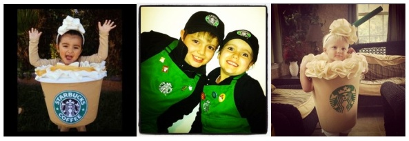 Starbucks kids costumes